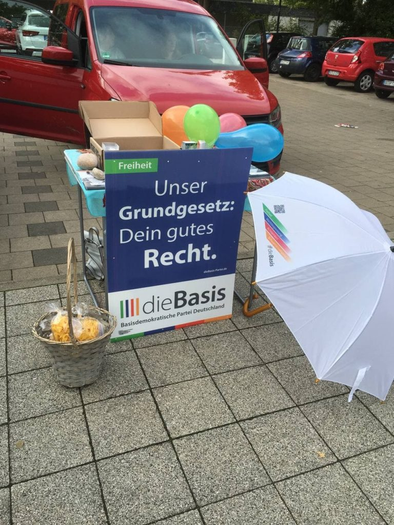 Wahlstand Prohlis 01.09.